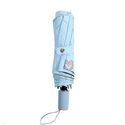 하트뷰 UV차단 양산 우산 접이식 3단 암막우산 스카이
