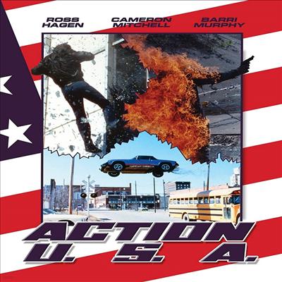 Action U.S.A. (다이아몬드 작전) (1989)(지역코드1)(한글무자막)(DVD)