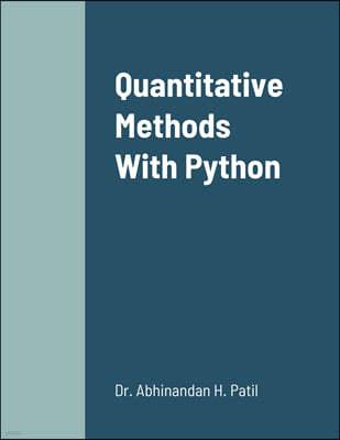 Quantitative Methods With Python