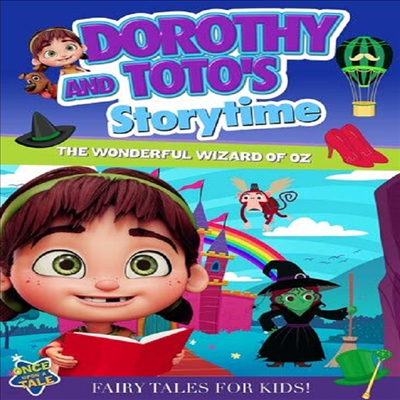 Dorothy And Toto's Storytime: The Wonderful Wizard Of Oz (도로시 앤 토토스 스토리타임)(지역코드1)(한글무자막)(DVD)
