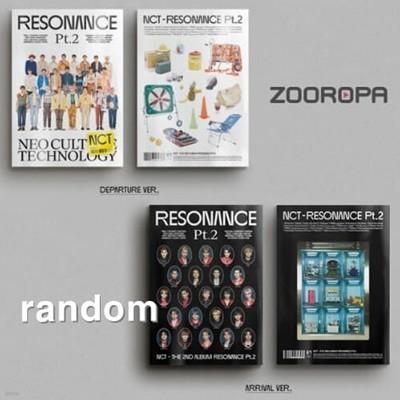 [개봉] 엔시티 NCT The 2nd Album RESONANCE Pt.2 Arrival 포카없음