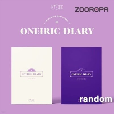 [개봉] 아이즈원 (IZONE) 3집 Oneiric Diary (포카포함)