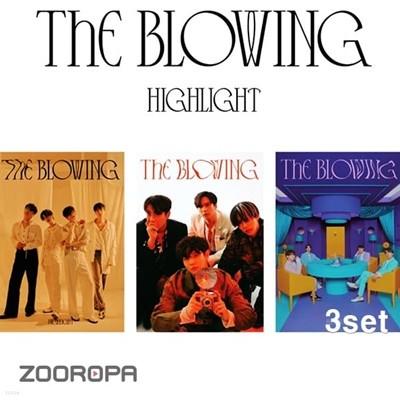 [미개봉/3종세트] 하이라이트 Highlight 미니앨범 3집 The Blowing