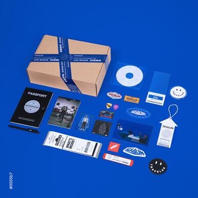 숀 (SHAUN) - Traveler Package [한정반]