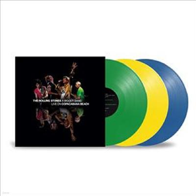 Rolling Stones - A Bigger Bang - Live On Copacabana Beach (Ltd)(Colored 3LP)