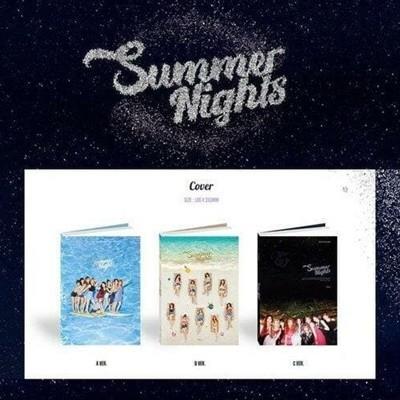 [개봉/3종세트] 트와이스(TWICE) - Summer Special 2집 (Summer Nights)