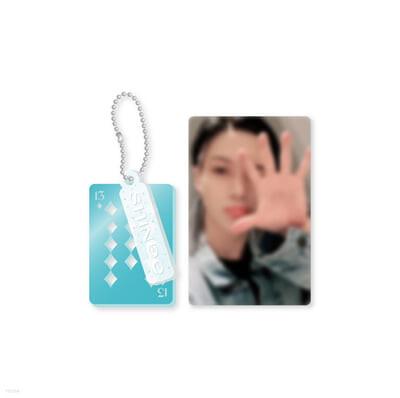 [TAEMIN] 아크릴키링+포토카드SET SHINee 13th Anniversary Special MD