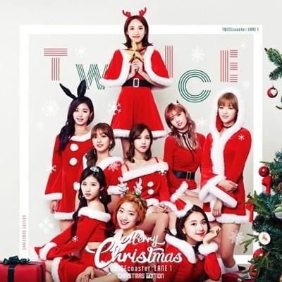 [개봉] 트와이스 (Twice) / TWICEcoaster : LANE 1 'Christmas Edition' (포카없음)
