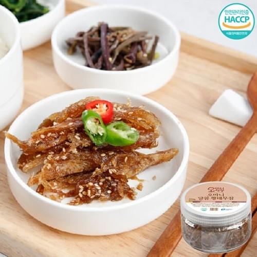 [강원도농수특산물인증] 밥도둑 수제 달콤 황태무침 200gx2통