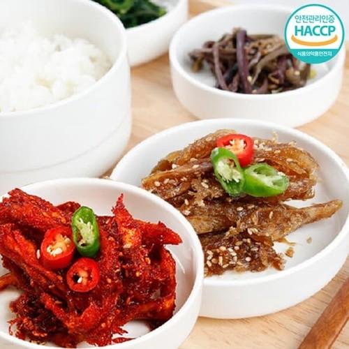 [강원도농수특산물인증] 달콤황태무침 350g+매콤황태무침 350g