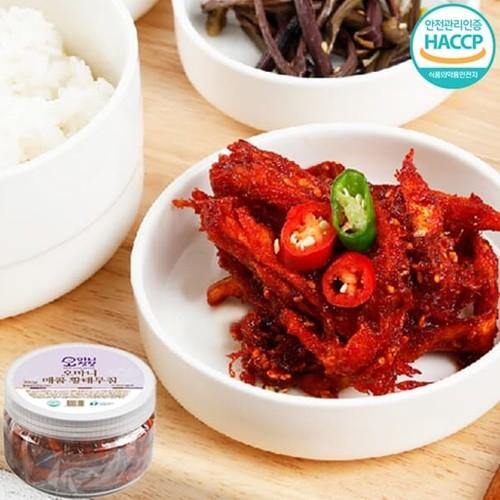 [강원도농수특산물인증] 밥도둑 수제 매콤 황태무침 1kg