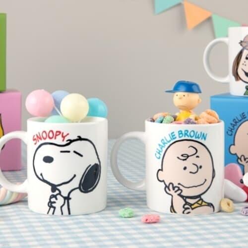 [Peanuts] 스마일 머그컵 (6종)