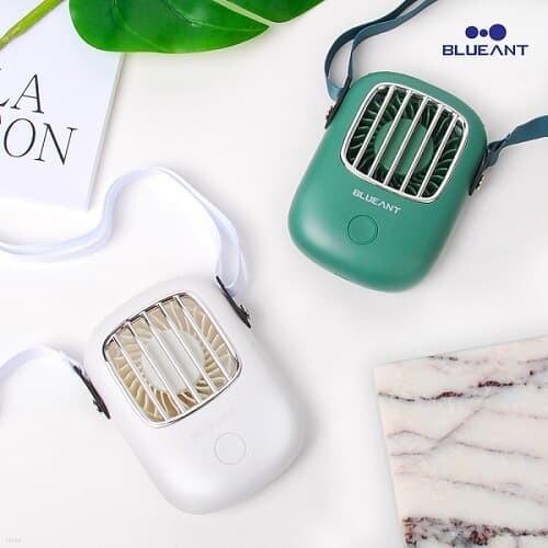 블루안트 핸디형 휴대용 선풍기/다크그린/화이트/손선풍기/손풍기/미니선풍기/탁상용선풍기