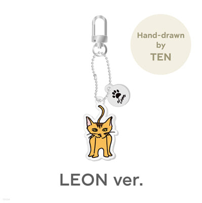 [TEN] ACRYLIC KEY RING CHARM_LEON Ver. [Our Home : WayV with Little Friends]