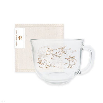 [WayV] CEREAL CUP+FABRIC COASTER SET [Our Home : WayV with Little Friends]