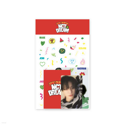 [NCT DREAM] PHOTO CARD DECO SET - Hot Sauce