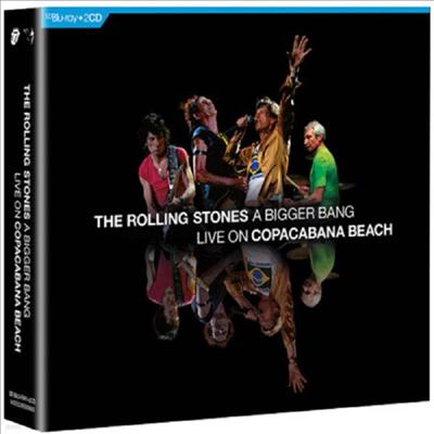 Rolling Stones - A Bigger Bang Live On Copacabana Beach (2CD+DVD)