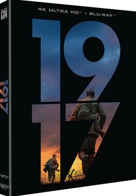 1917 (2Disc 4K+2D 스카나보 풀슬립 일반판) : 블루레이