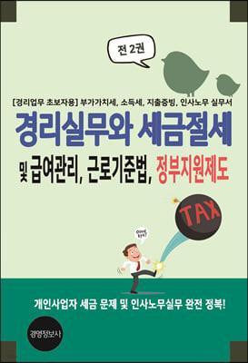 경리실무와 세금절세 및 급여관리, 근로기준법, 정부지원제도
