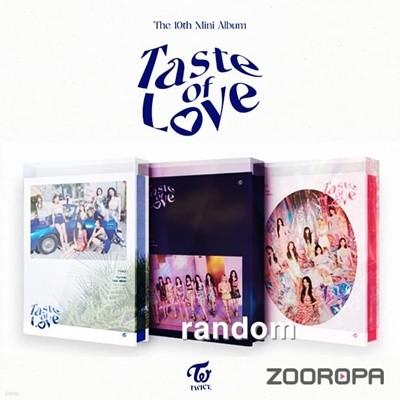 [미개봉/주로파] 트와이스 TWICE 미니앨범 10집 Taste of Love
