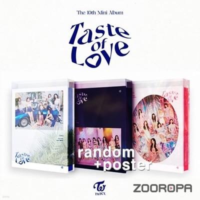 [미개봉/포스터증정] 트와이스 TWICE 미니앨범 10집 Taste of Love