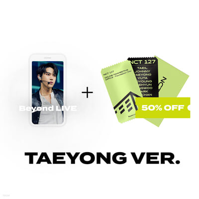 [TAEYONG] Beyond LIVE 관람권 + SPECIAL AR TICKET SET Beyond LIVE - NCT 127 ONLINE FANMEETING 'OFFICE : Foundation Day'