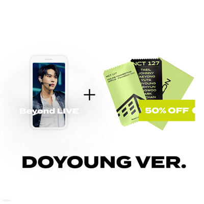 [DOYOUNG] Beyond LIVE 관람권 + SPECIAL AR TICKET SET Beyond LIVE - NCT 127 ONLINE FANMEETING 'OFFICE : Foundation Day'