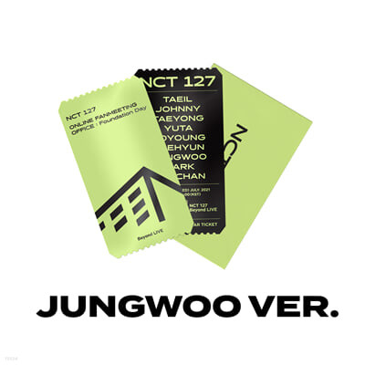 [JUNGWOO] SPECIAL AR TICKET SET Beyond LIVE - NCT 127 ONLINE FANMEETING 'OFFICE : Foundation Day'