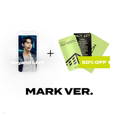 [MARK] Beyond LIVE 관람권 + SPECIAL AR TICKET SET Beyond LIVE - NCT 127 ONLINE FANMEETING 'OFFICE : Foundation Day'