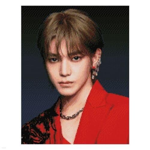 NCT 보석십자수 TAEYONG 태용 큐빅 비즈 40X50