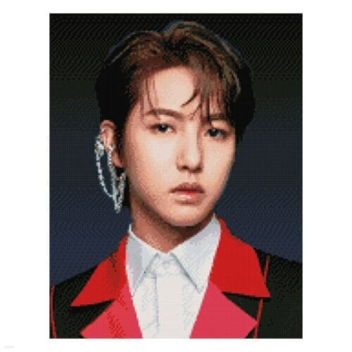 NCT 보석십자수 RENJUN 런쥔 큐빅 비즈 40X50