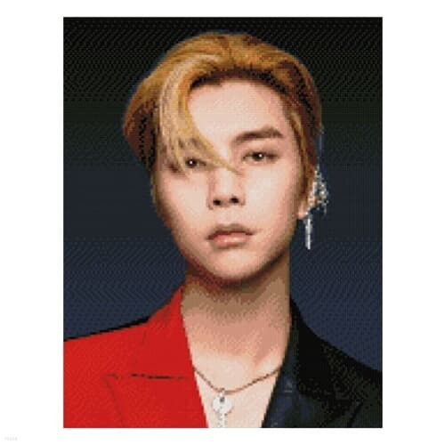 NCT 보석십자수 JOHNNY 쟈니 큐빅 비즈 40X50