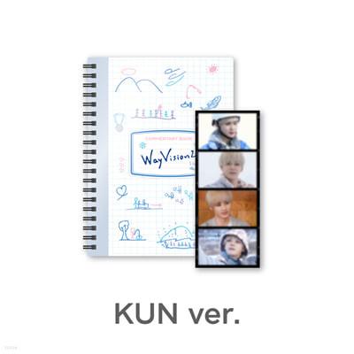[KUN] 웨이션브이 (WayV) - WayVision 2 : 동계 스포츠 채널 코멘터리북+필름SET