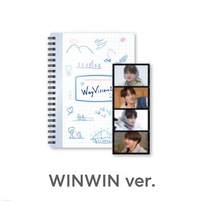 [WINWIN] 웨이션브이 (WayV) - WayVision 2 : 동계 스포츠 채널 코멘터리북+필름SET