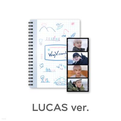 [LUCAS] 웨이션브이 (WayV) - WayVision 2 : 동계 스포츠 채널 코멘터리북+필름SET