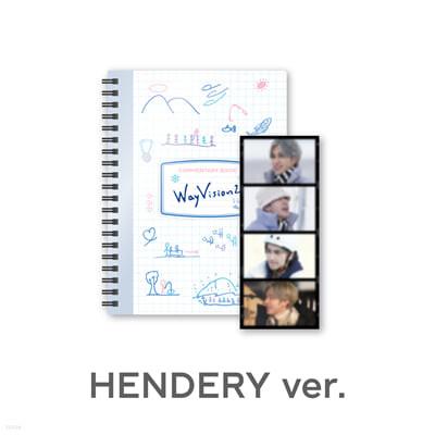 [HENDERY] 웨이션브이 (WayV) - WayVision 2 : 동계 스포츠 채널 코멘터리북+필름SET