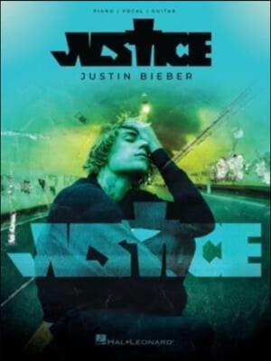 Justin Bieber - Justice: Piano/Vocal/Guitar Songbook