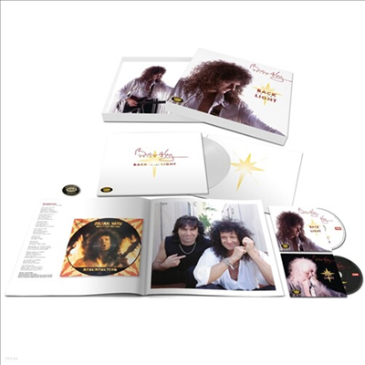 Brian May - Back To The Light (Remastered)(2CD+180g Colored LP Box Set)