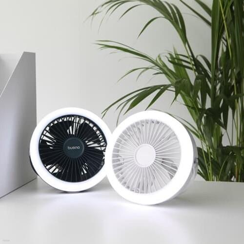 [브에노] 휴대용(캠핑) LED 무선 선풍기