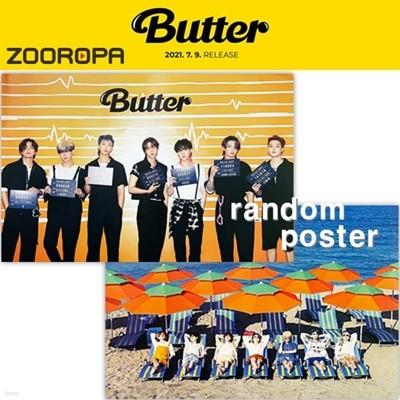 [새상품/1포스터] 방탄소년단 BTS Butter 버터 (브로마이드1장+지관통)