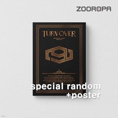 [미개봉/포스터증정] 에스에프나인 SF9 미니앨범 9집 TURN OVER SPECIAL
