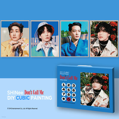샤이니 (SHINee) - DIY 큐빅 페인팅 [태민]