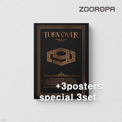 [미개봉/3종세트/3포스터] 에스에프나인 SF9 미니앨범 9집 TURN OVER SPECIAL