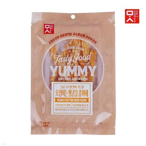 [MAT DREAM] 쫄깃한 감칠맛 땅콩버터맛오징어 30gx5봉