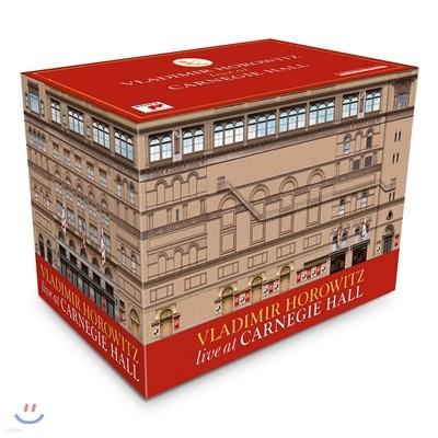 블라디미르 호로비츠 카네기홀 라이브 박스세트 (Vladimir Horowitz Live At Carnegie Hall) [41CD+1DVD 한정반]