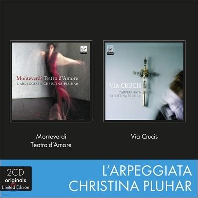 몬테베르디 : 사랑의 극장 + 십자가의 길 - 크리스티나 플루하르