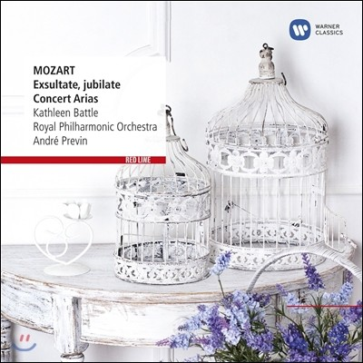 Kathleen Battle / Andre Previn 모차르트: 엑슐타테 주빌라테 (Mozart: Exsultate Jubilate & Arias)