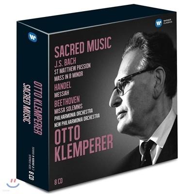 Otto Klemperer 바흐 / 헨델 / 베토벤: 종교음악집 (Bach, Handel, Beethoven : Sacred Works) 오토 클렘페러