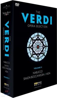 베르디 오페라 셀렉션 박스: 나부코 + 시몬 보카네그라 + 아이다
