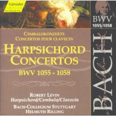 바흐 : 하프시코드 협주곡 (Bach : Harpsichord Concertos BWV1055-1058) - Robert Levin